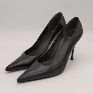 Stuart Weitzman Black Leather Pumps Size 8